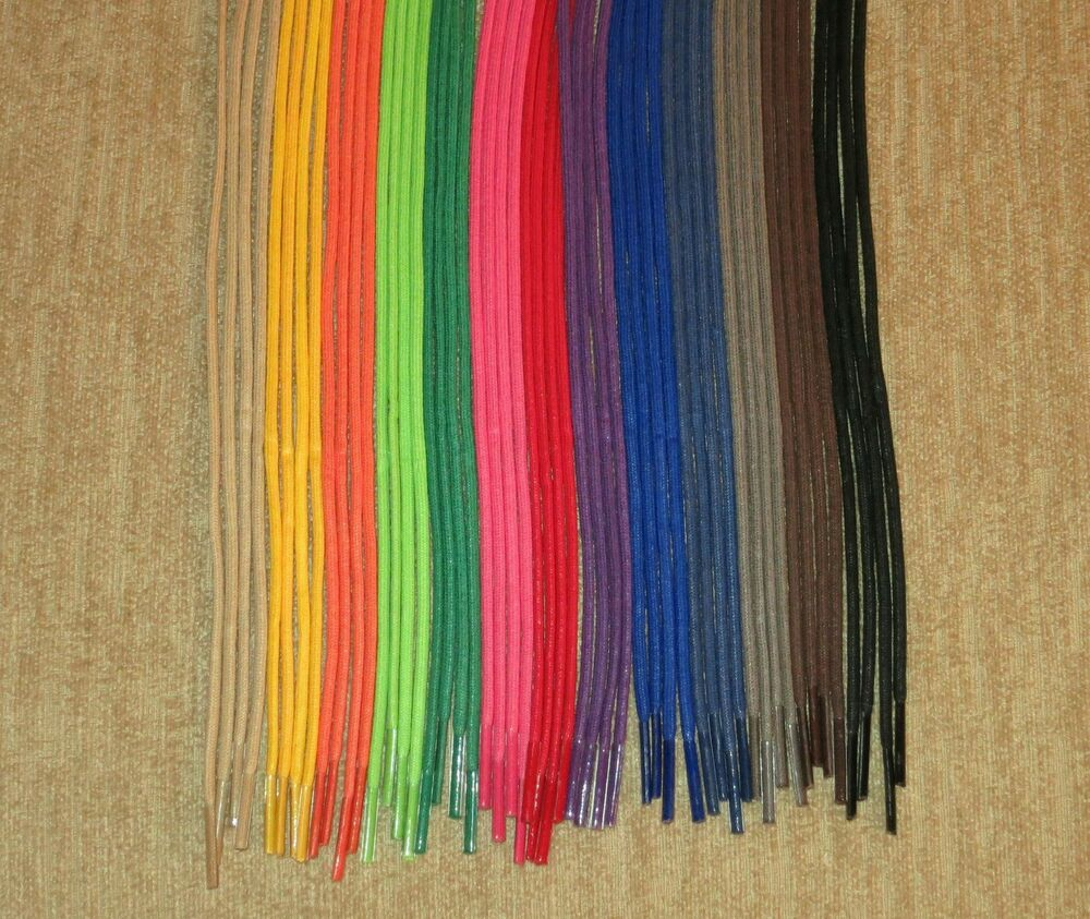 waxed cotton dress shoe shoelaces 24 30 36 inch