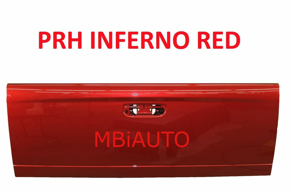 NEW *Painted PRH Red* Tailgate For 2002-2009 Dodge Ram