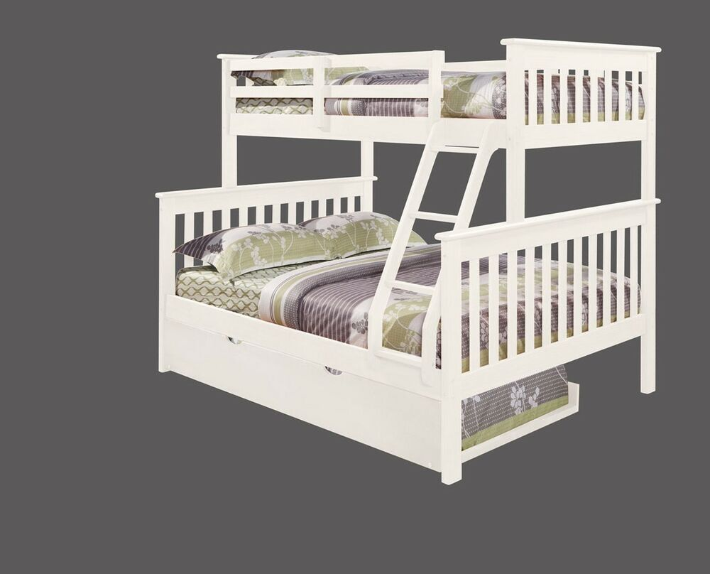 Twin over full kid 39 s bunk bed w trundle and or tent for Beds with trundle