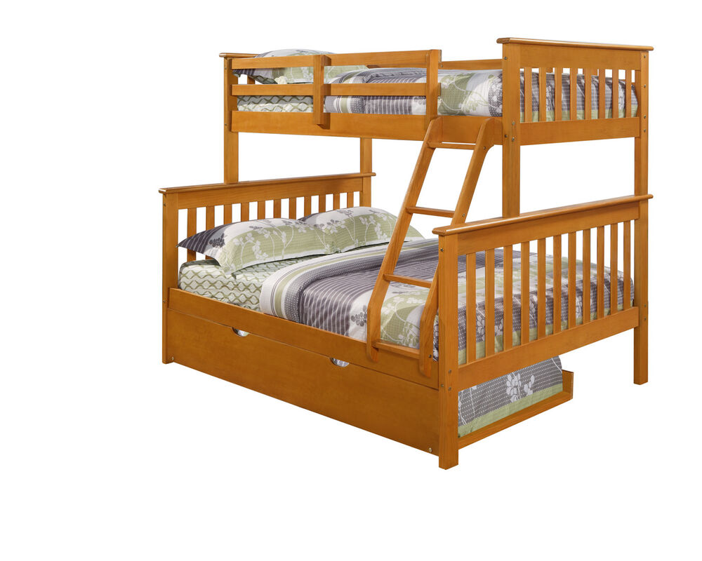 twin over full bunk bed w optional trundle and or tent. Black Bedroom Furniture Sets. Home Design Ideas