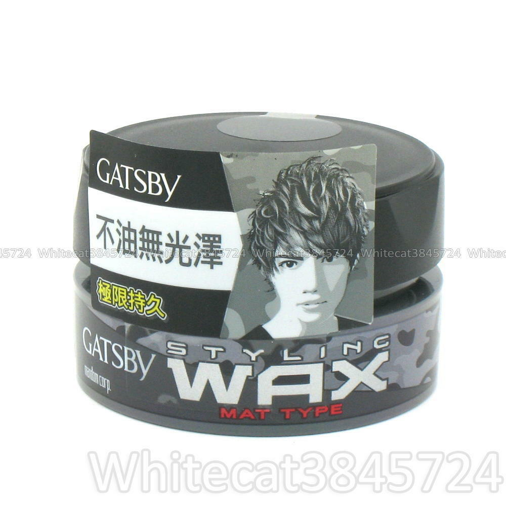 059070 Gatsby Mat Type Hair Styling Wax Japan Ebay