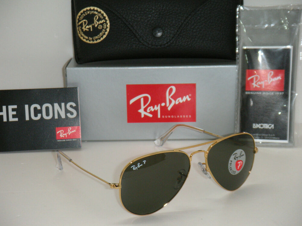 ray ban aviator 55mm polarized  Ray Ban Aviator Polarized