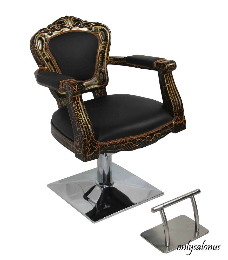 barber chair styling style salon antique hydraulic beauty equipment supply new ebay. Black Bedroom Furniture Sets. Home Design Ideas