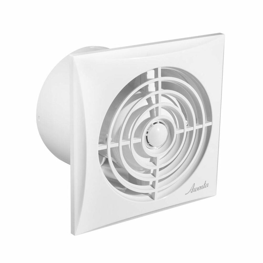 "Silent Bathroom Extractor Fan 100mm / 4"" Low Noise Energy Ventilator Quiet WZ100"