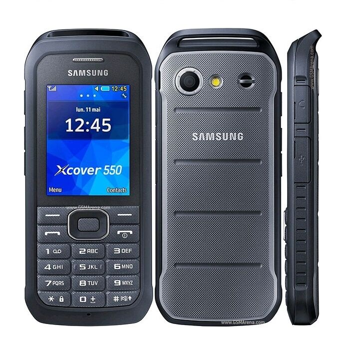 samsung xcover 550 unlocked ip67 toughphone rugged waterproof shockproof phone ebay. Black Bedroom Furniture Sets. Home Design Ideas