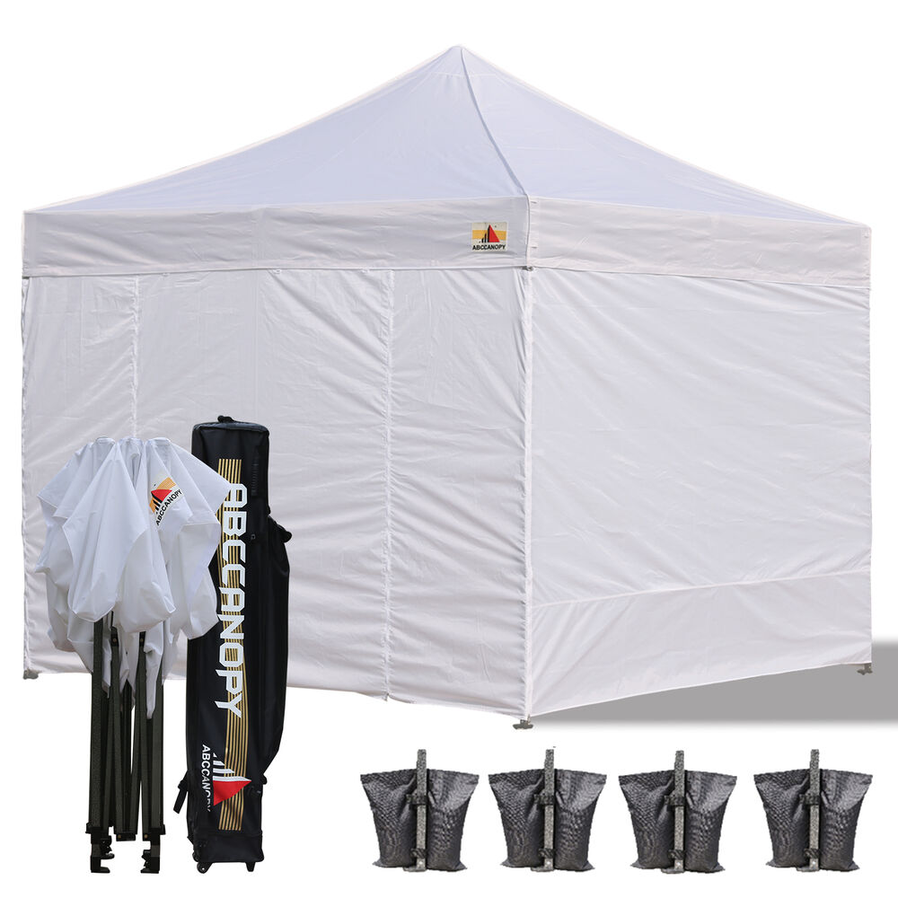 New Ez Pop Up Canopy 10 X 10 Commercial Fair Vending Tent