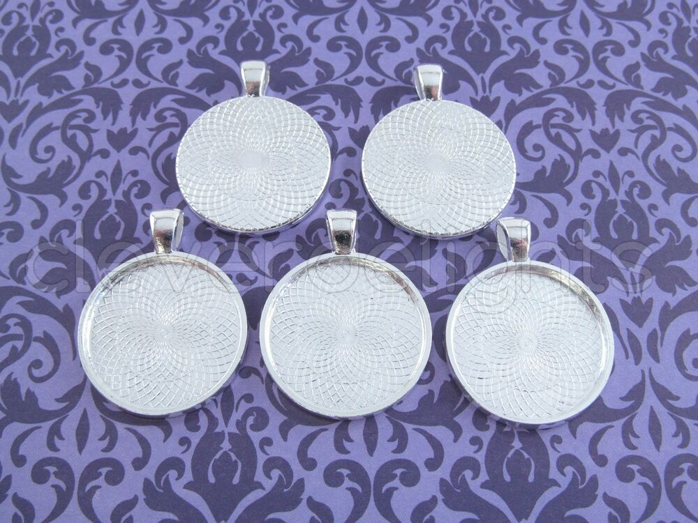 1 Inch Round Pendant Tray