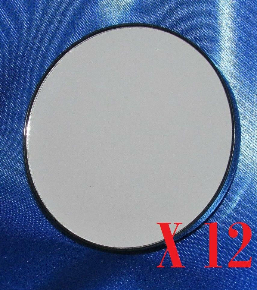 12 Pack Mirror Make Up Cosmetic 10x Magnifying Face