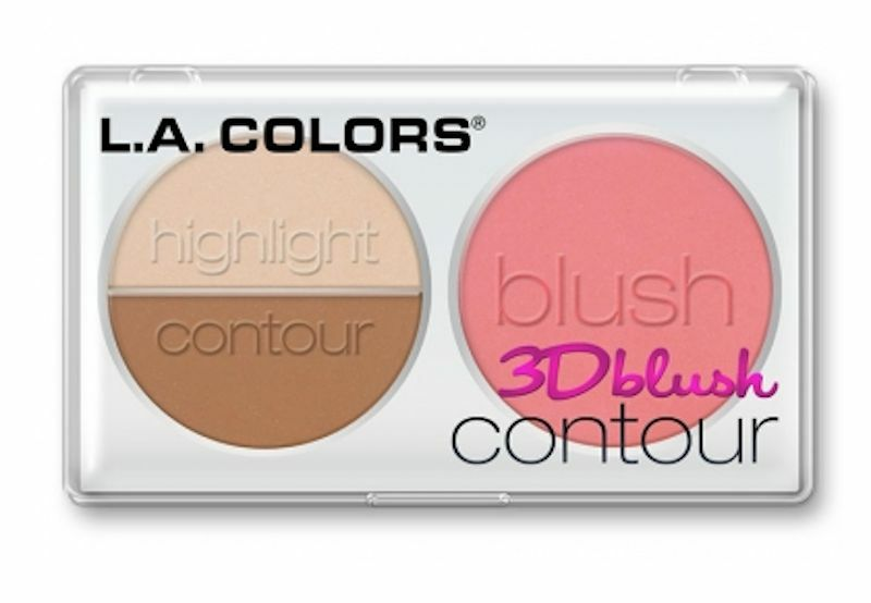 how to put on contour blush