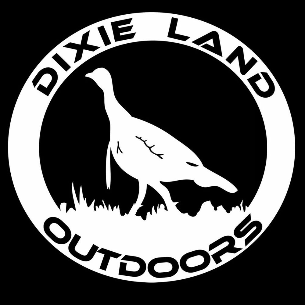 Dixie Land Outdoors Turkey Hunting decal,hunting sticker ...