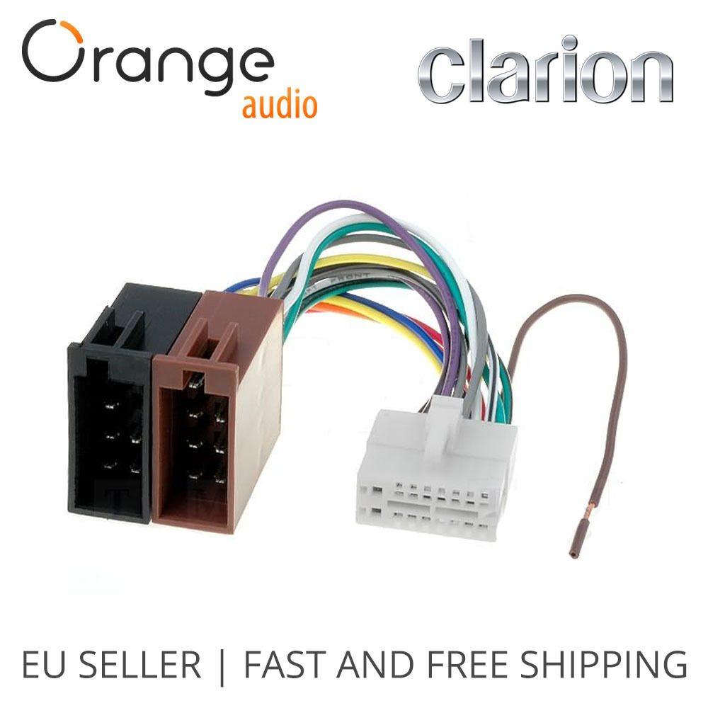 Clarion Dxz555mp Wiring Harness 31 Diagram Images 16 Pin S L1000 To Iso Lead Loom Power Adaptor Wire Radio