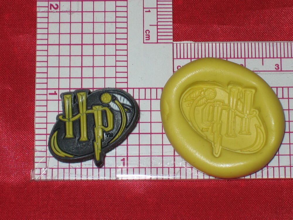 Cake Decorating Push Mold : Harry Potter Logo Push Mold Silicone Bookscrapping Resin ...