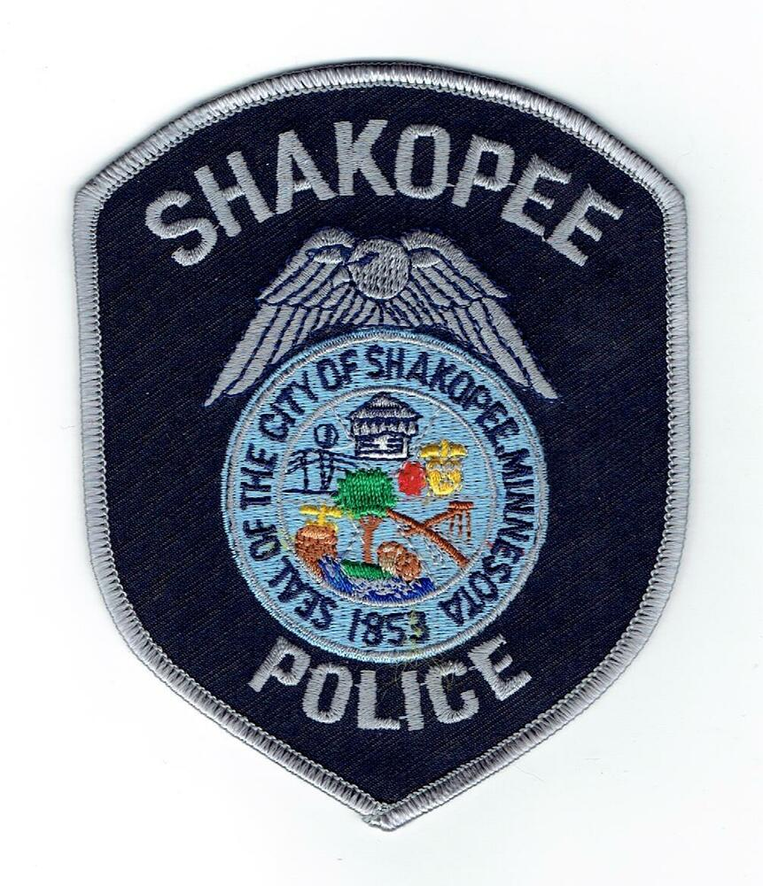 SHAKOPEE MINNESOTA POLICE PATCH