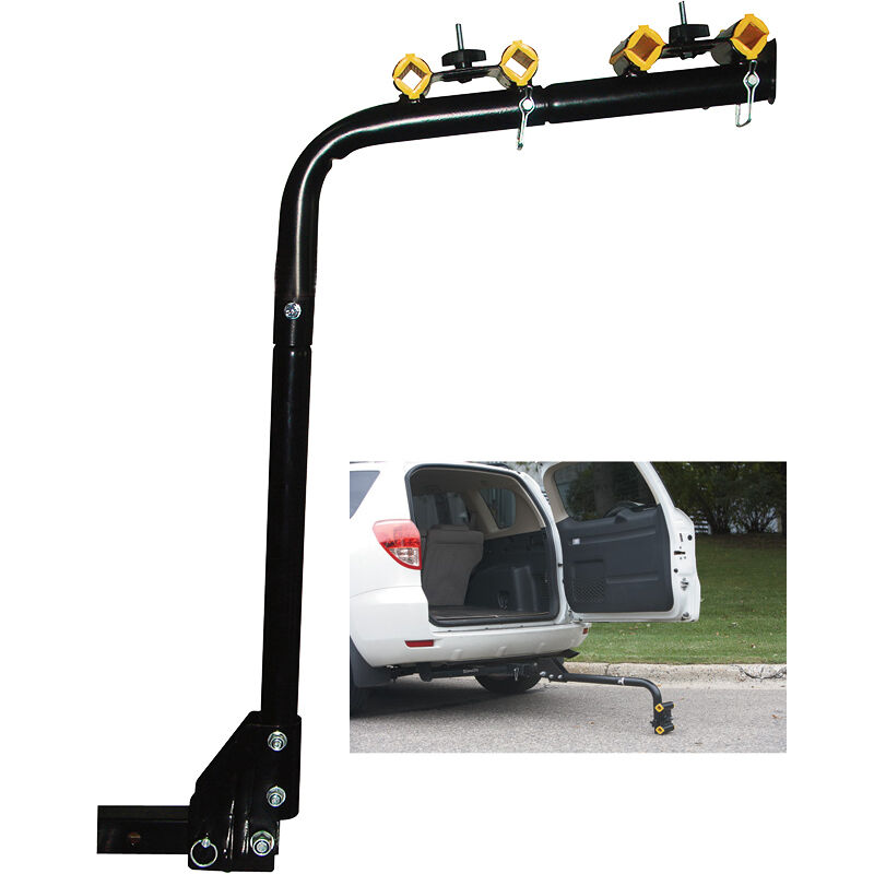 4 Bicycle Bike Rack Hitch Mount Carrier Car Swing Down SUV ...