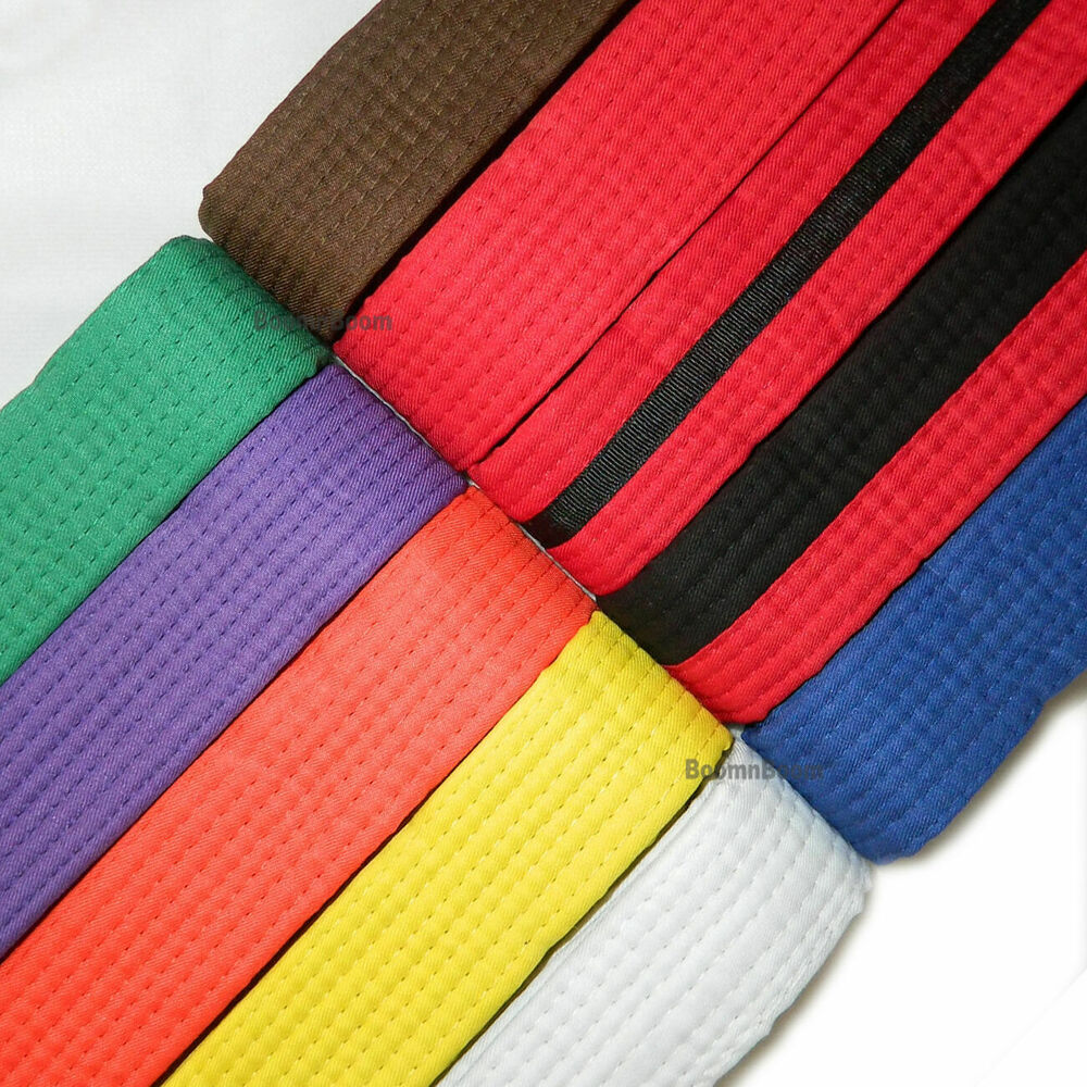 how to put on karate belt