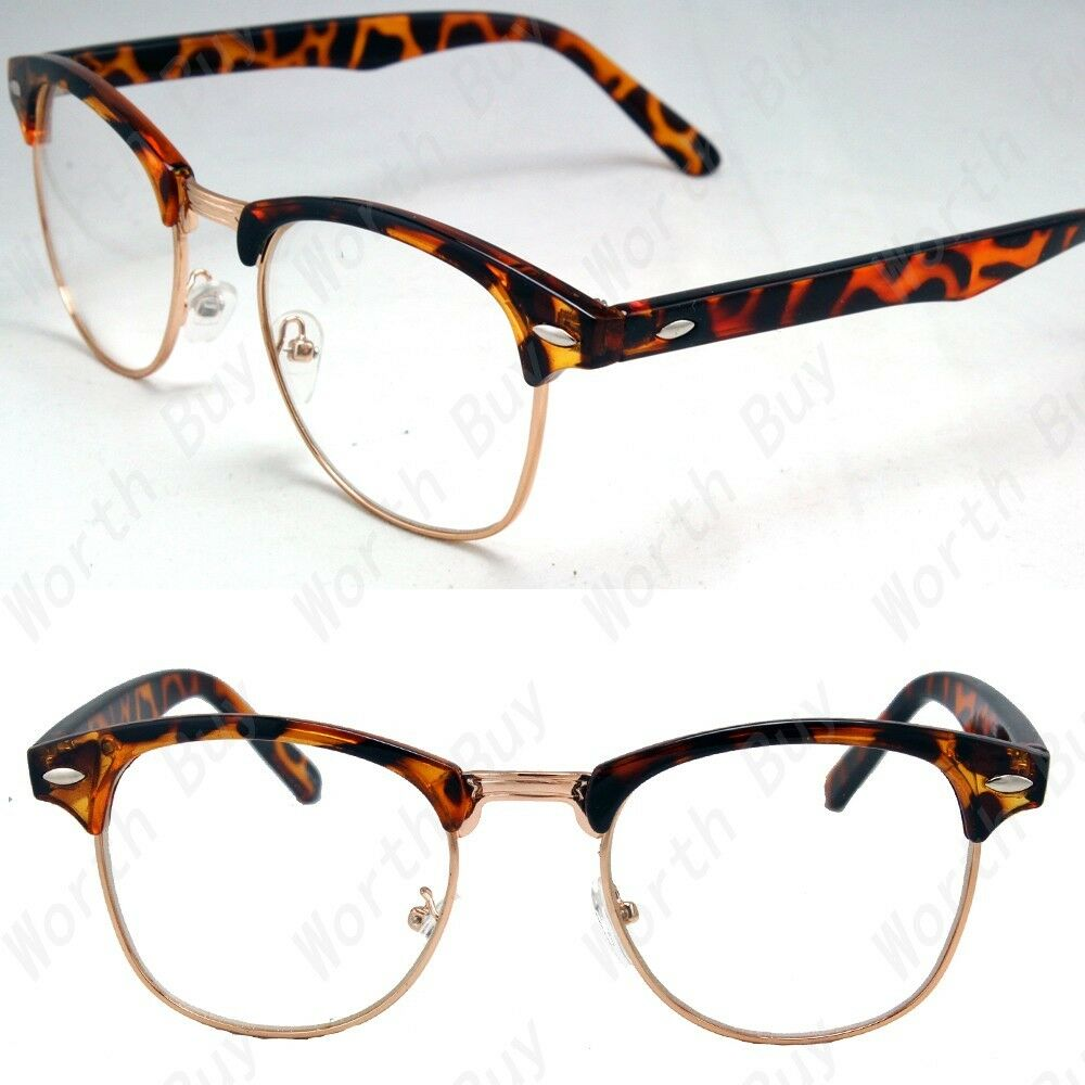 Old Glasses Frames New Lenses : New Retro Vintage Fashion Greek Clear Lenses Frames ...