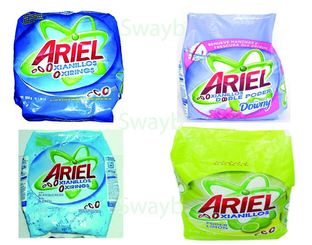 Ariel Laundry Detergent Bleach Powder Wash Soap 900g 810g