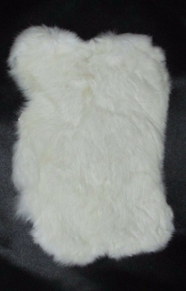Genuine rabbit skin fur pelt soft leather hide craft for Furry craft