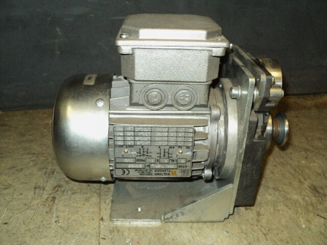 Walther flender h56p4 therm type m electric motor 3 phase for Types of electric motor