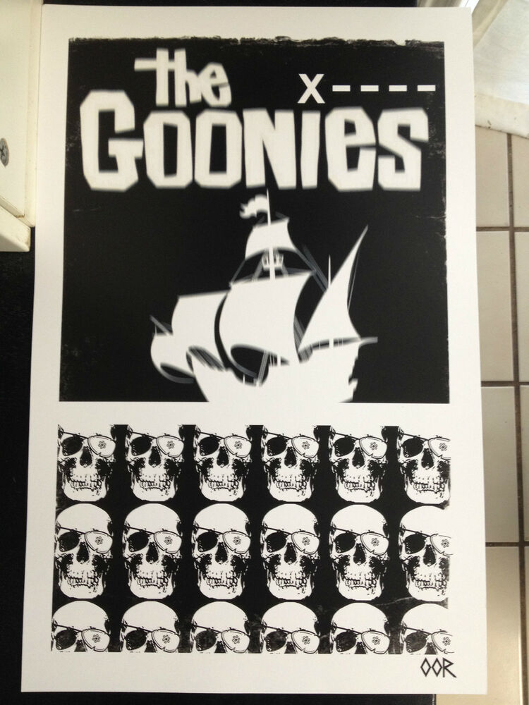 The Goonies movie poster print | eBay