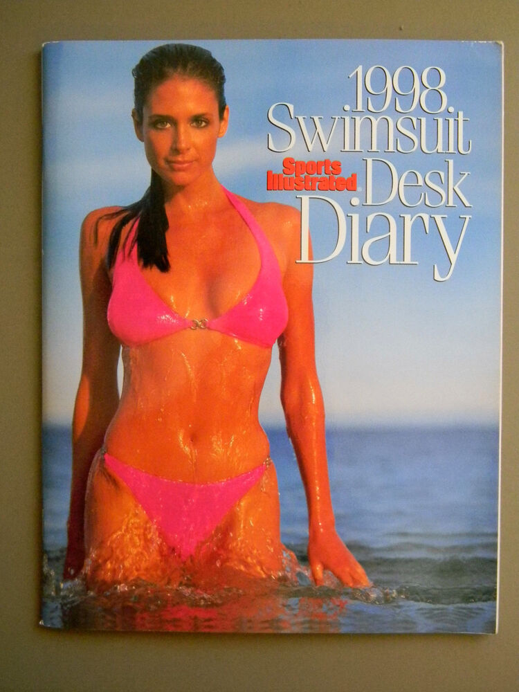 Sports Illustrated 1998 Swimsuit Desk Diary Calendar Mint