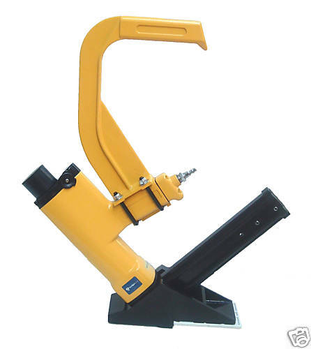 new air pneumatic hardwood floor flooring nailer gun ebay