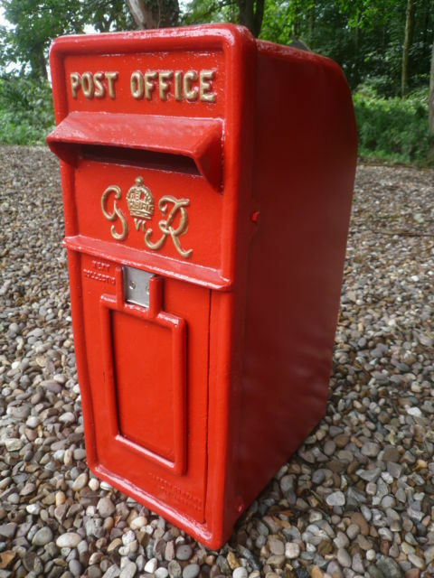 Royal Mail Post Box Gr Red Vintage Post Box Red Gr Post