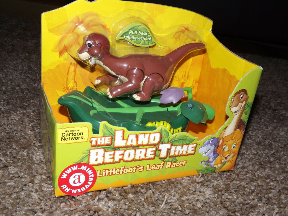 Land Before Time Toys : The land before time action figure littlefoot s leaf