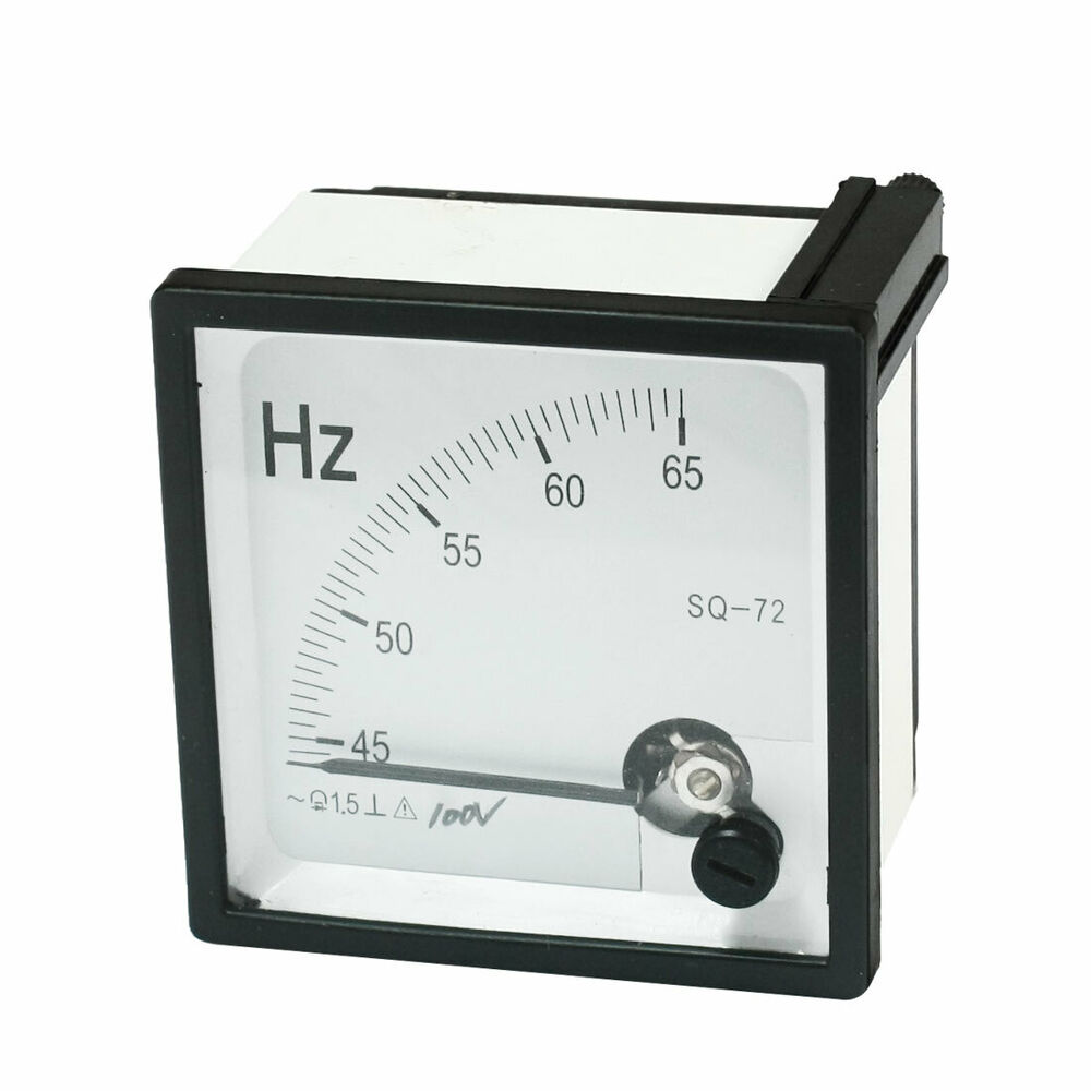 Hertz Frequency Meter : Accuracy class hz frequency tester analog panel