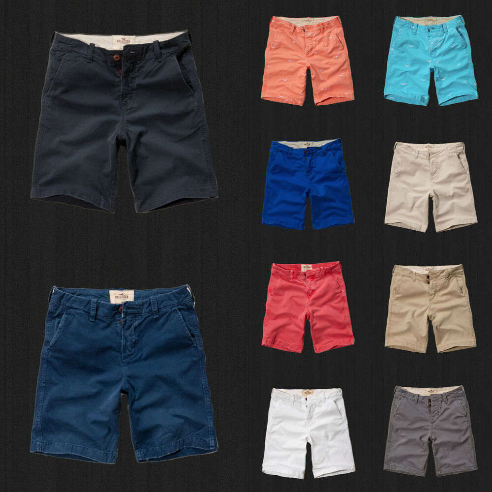 NWT Hollister HCO By Abercrombie Classic Fit At The Knee
