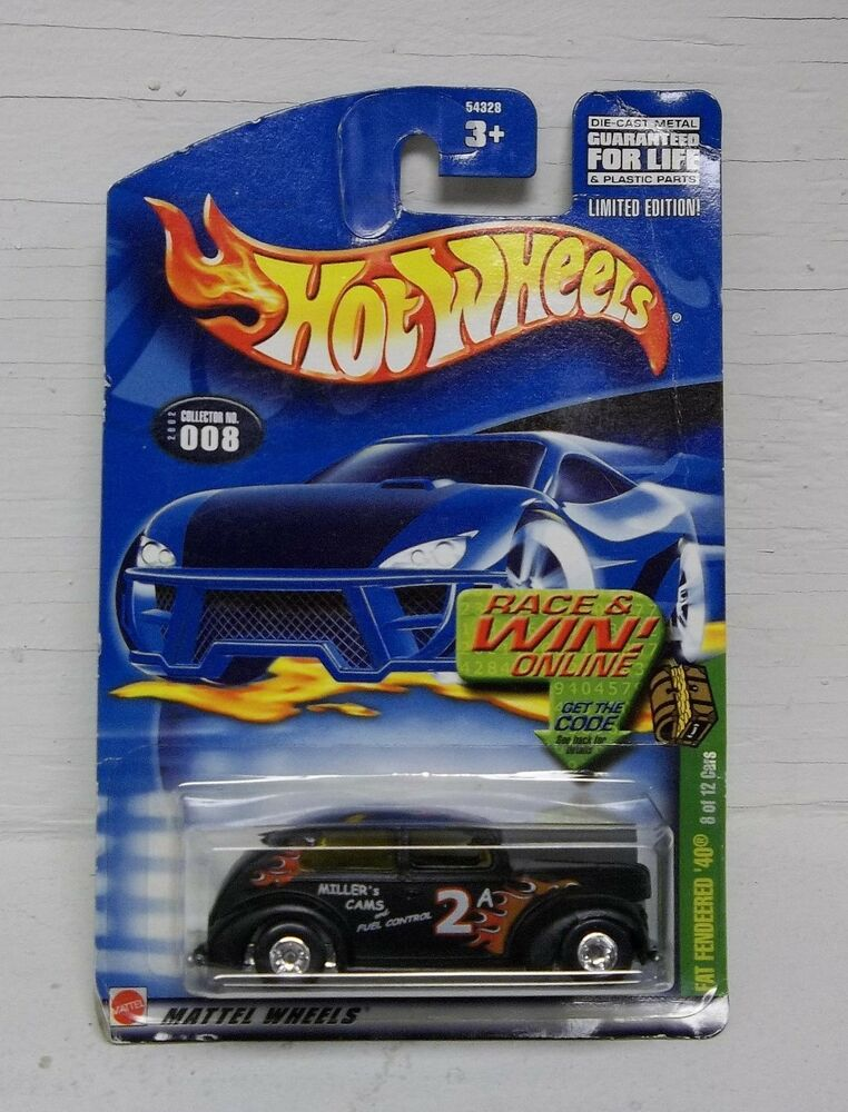 Hot Wheels Fat Fendeered '40 (8 Of 12 Cars) Collector No