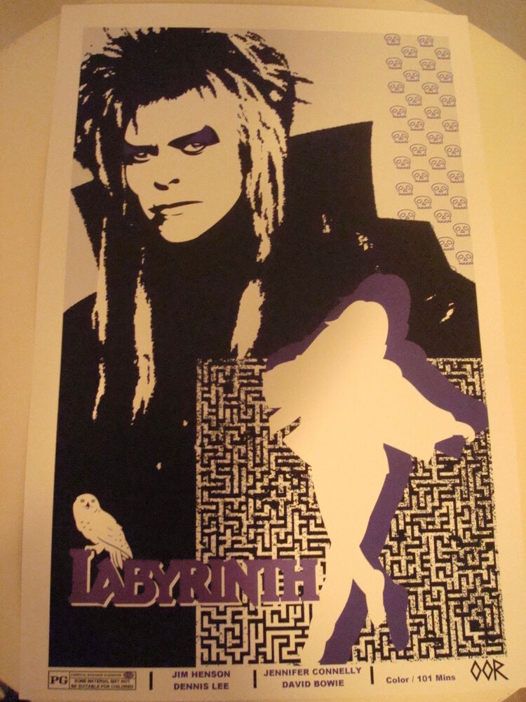 labyrinth 24 x 36 movie poster print ebay. Black Bedroom Furniture Sets. Home Design Ideas
