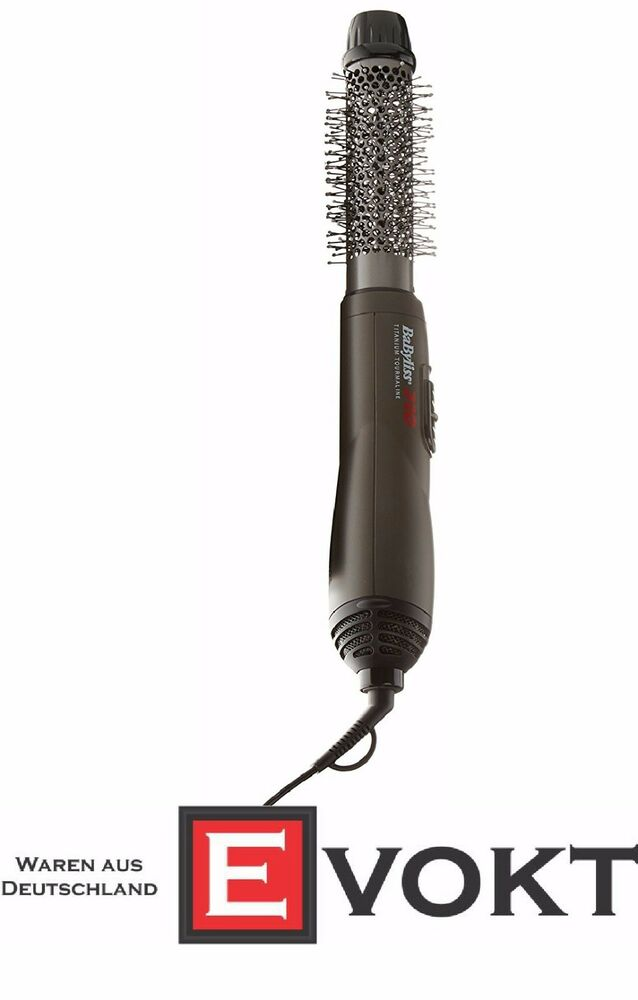 babyliss pro bab2676tte hot air brush with titanium. Black Bedroom Furniture Sets. Home Design Ideas