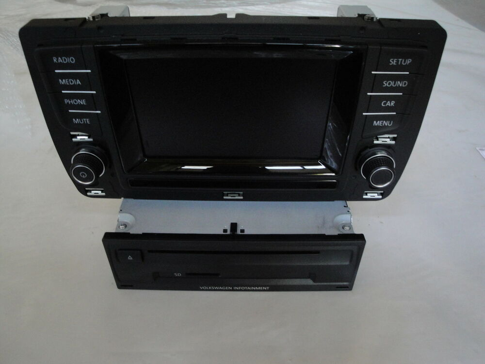 vw radio entertainment system composition media dab golf. Black Bedroom Furniture Sets. Home Design Ideas