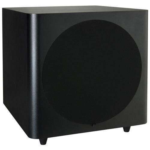 dayton audio sub 1000 10 100 watt powered subwoofer ebay. Black Bedroom Furniture Sets. Home Design Ideas