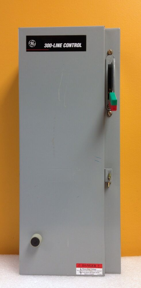 Ge 300 line control type 1 enclosure with ge starter and for Ge manual motor starter