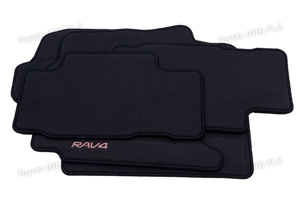 genuine toyota 4x tailored car carpet floor mats rav4 11. Black Bedroom Furniture Sets. Home Design Ideas