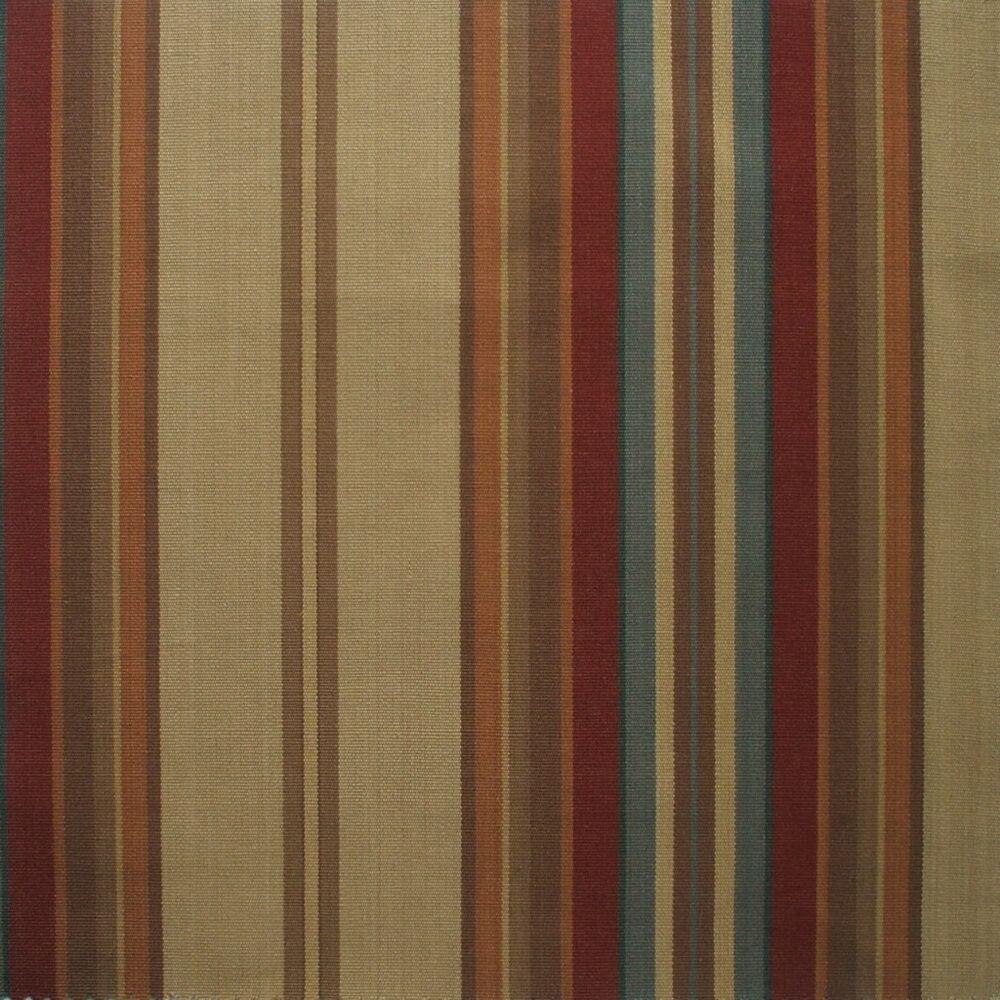 84 Carlton Stripe Cardinal Red Fabric Shower Curtain Cotton EBay