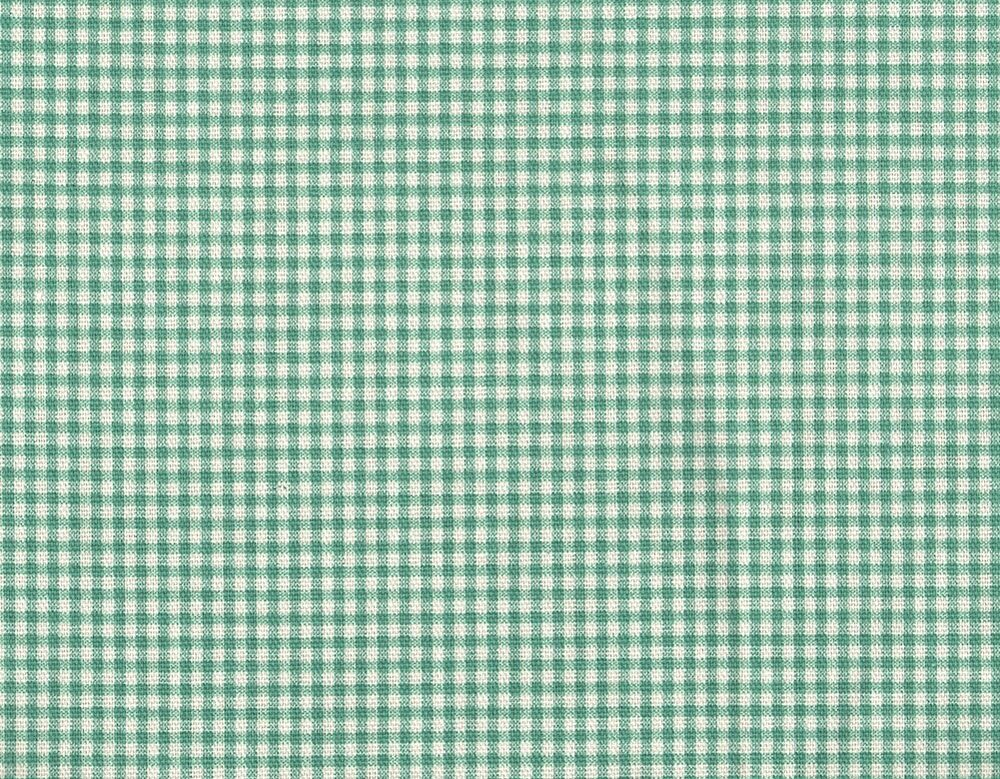 French Country Gingham Check Pool Blue Green King Duvet