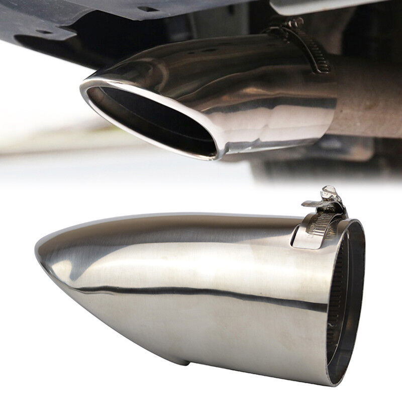 Fit For 2014-2017 Nissan Rogue x-Trail Chrome Exhaust ...