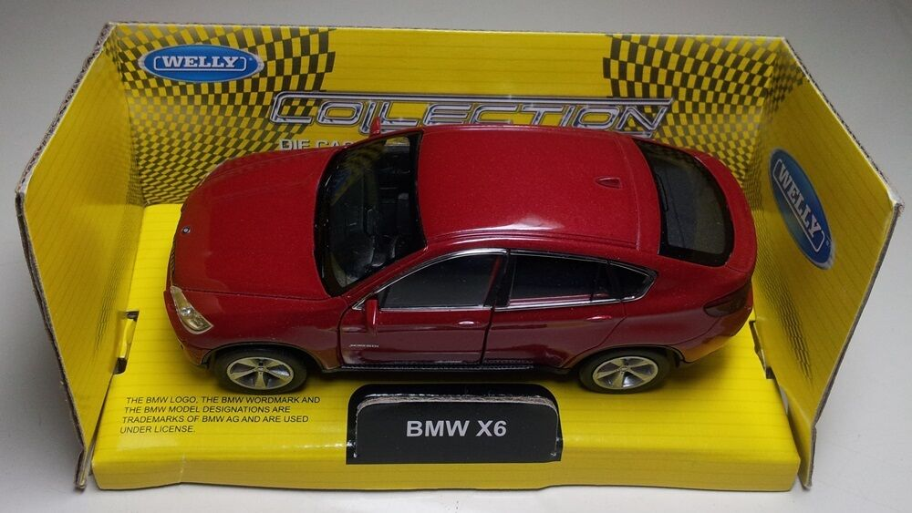 Toy Car Die Cast Metal With Plastic Parts Bmw X6 Ebay