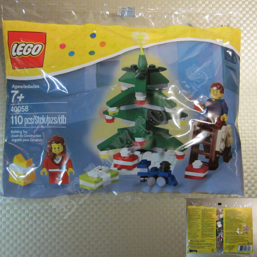 New LEGO Limited Edition 2013 Decorating The Christmas