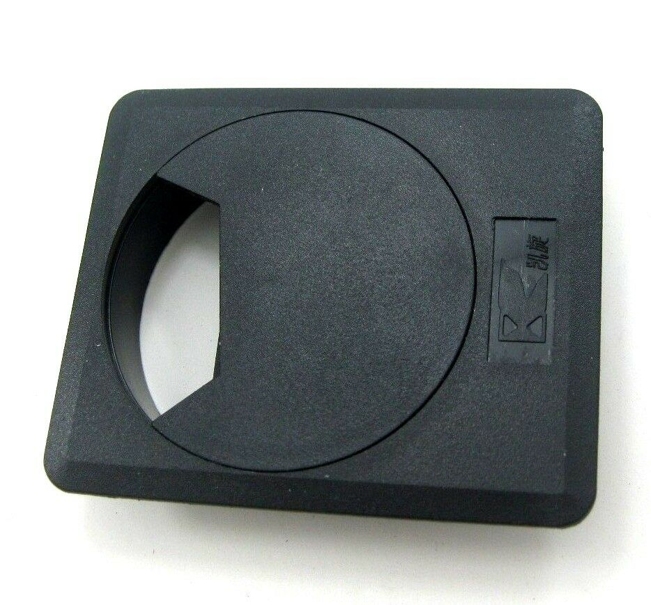 Square With Dia 60 Mm Desk Cable Tidy Outlet Plastic Round