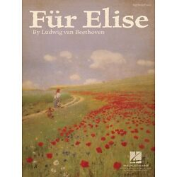 Fur Elise Sheet Music Big Note Piano Solo Beethoven NEW 000349534