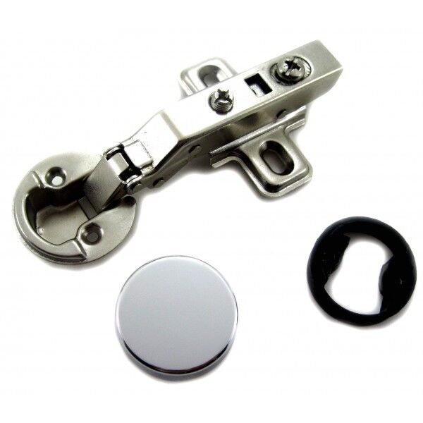 1 26mm hole euro hydraulic soft close full overlay hinge for Glass cabinet hinges