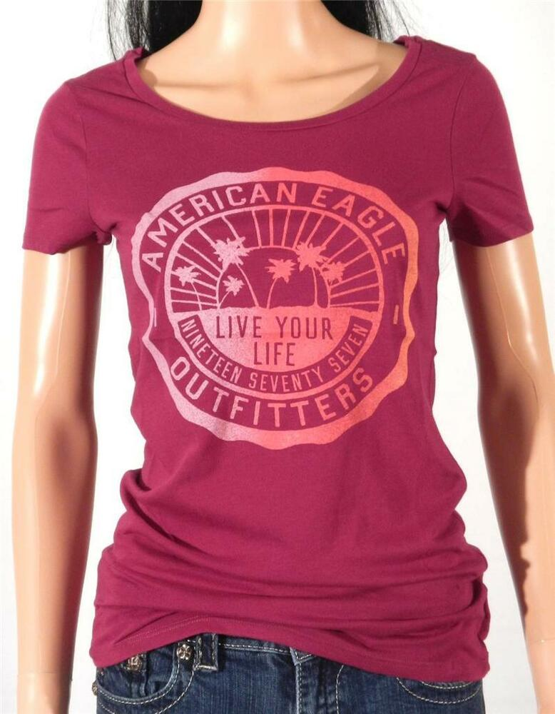 American Eagle Outfitters AEO Heritage Graphic Tee Womens ...