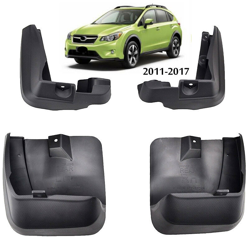 Set Fit For 2011 2015 Subaru Xv Crosstrek Mud Flaps Splash