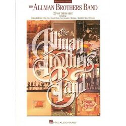 Allman Brothers Band Collection Sheet Music Piano Vocal Guitar Book 000306143