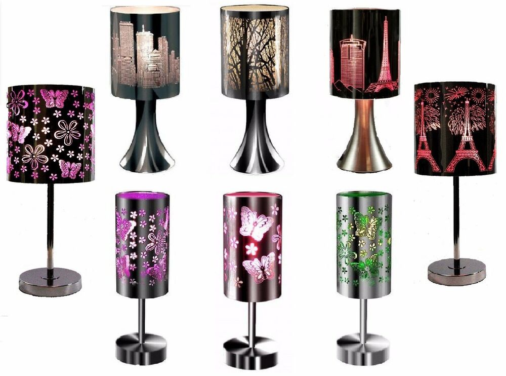 30cm etching touch lamps for bedside table good price. Black Bedroom Furniture Sets. Home Design Ideas