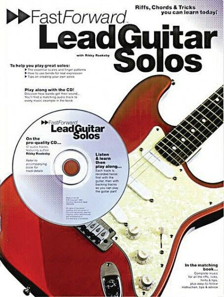 fast forward lead guitar solos riffs chords tricks you can learn t 014011094 752187950936 ebay. Black Bedroom Furniture Sets. Home Design Ideas